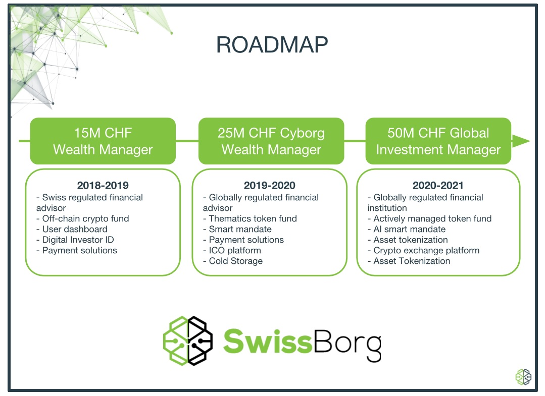 Swiss borg roadmap